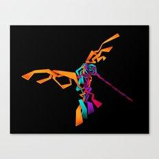 huitzilin tlahuilli - colibri - hummingbird Canvas Print