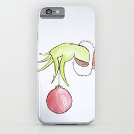 Christmas Stealer iPhone Case