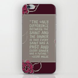 Sinners & Saints iPhone Skin