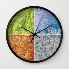 Seasons Wall Clock