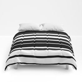 Black And White Stripes Comforters