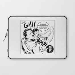"""I HATE THESE GUYS..."" Laptop Sleeve"
