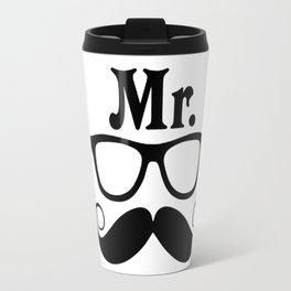 Mr, Mustasche Travel Mug