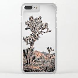 Joshua Tree #22 Clear iPhone Case