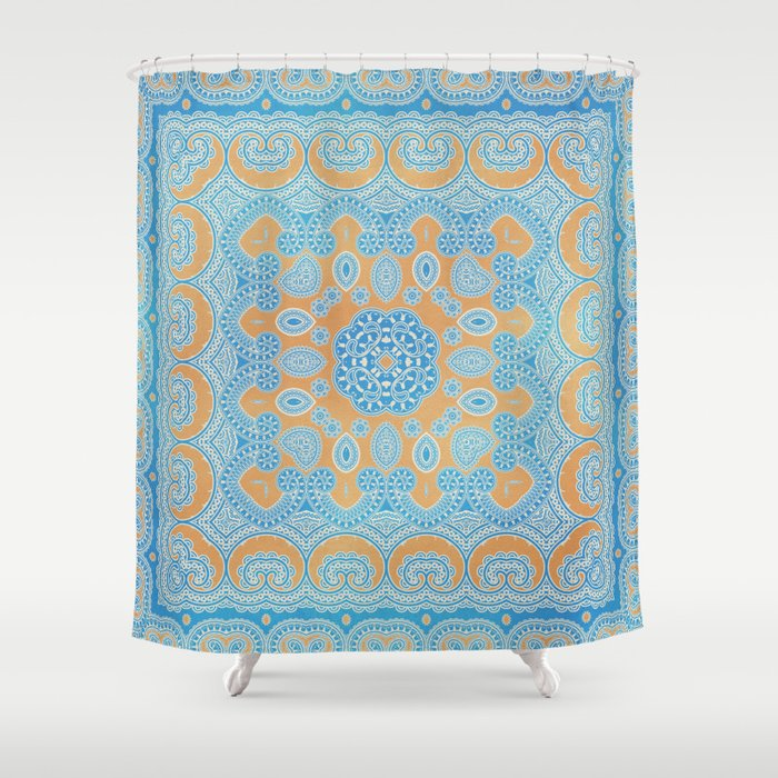 A Passage To India Shower Curtain