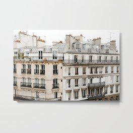Paris France Buildings Metal Print