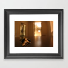 Silent Evening Framed Art Print