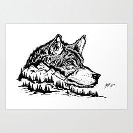 Mt. Lupus Art Print