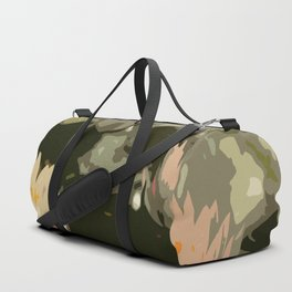 Waterlily Abstract Duffle Bag