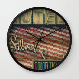 Silver Sands Motel Wall Clock