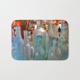 Glass Bottles Bath Mat