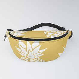 Summer, Tropical, Pineapples, Yellow Fanny Pack