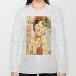 The girl of the 9th floor Long Sleeve T-shirt