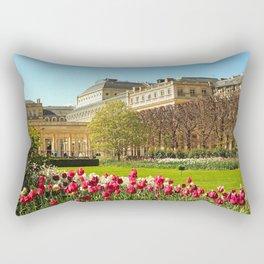 Garden at the Palais-Royal Rectangular Pillow