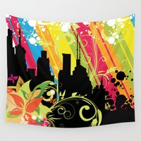 sublime Wall Tapestries featuring Sublime Dream by NextExit