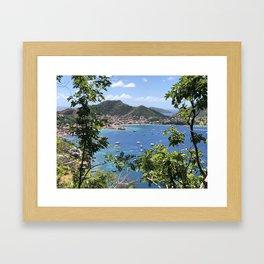 Iles des Saintes Framed Art Print