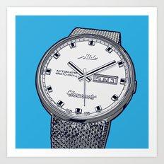 Mido Time! Art Print