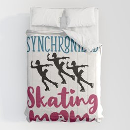 Synchronized Skating Mom Comforters