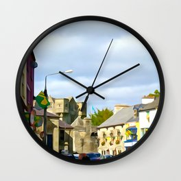 Donegal Town Wall Clock