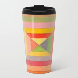 God's Eye Pattern Metal Travel Mug
