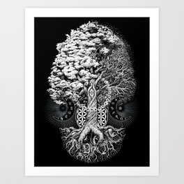 The Tree of Life Art Print