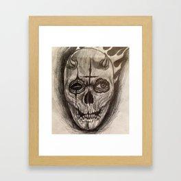 Sinful Death Framed Art Print