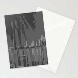 Gray Miami Stationery Cards