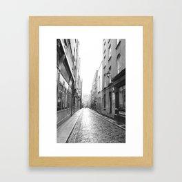 Old Streets Framed Art Print