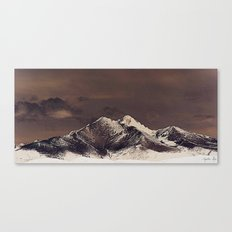 Rustic Mountain Canvas Print