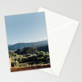 Kashbah Bab Ourika in Morocco, Africa   Moroccan travel photography Stationery Cards