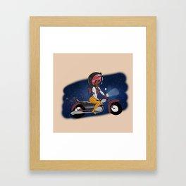 Cosmic Ride Framed Art Print