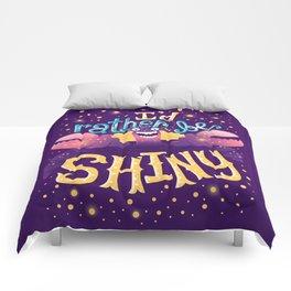 Shiny Comforters