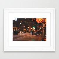 atlanta Framed Art Prints featuring Atlanta. by Sundaze Shoots