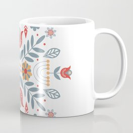 Scandinavian Folk Art Coffee Mug