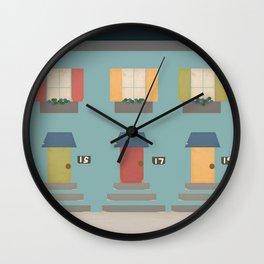 The Neighborhood Wall Clock