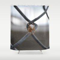 spider Shower Curtains featuring Spider by Labartwurx