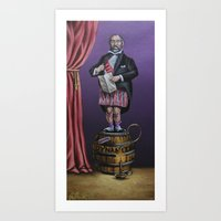 haunted mansion Art Prints featuring Haunted Mansion Portrait: Dynomite by Jonathan R. Lopez