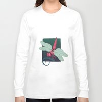 dragonfly Long Sleeve T-shirts featuring Dragonfly by Justin McElroy