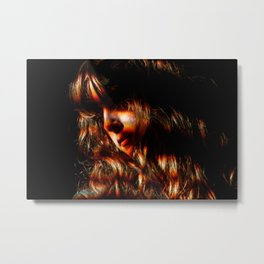 Victoria Legrand (Beach House) - I Metal Print