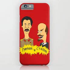 Lenin and Stalin iPhone 6 Slim Case