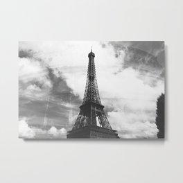 The Eiffel Colosseum Metal Print