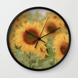 Sunny Side of Life Wall Clock