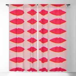 Lips pattern Blackout Curtain