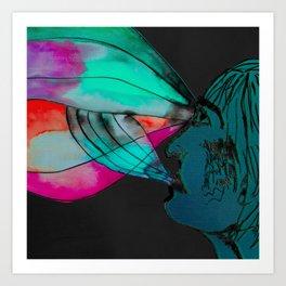 Colour FM Art Print