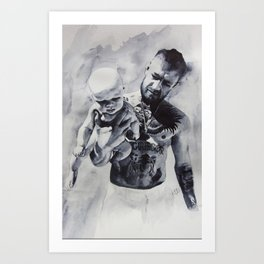 Father Conor Art Print