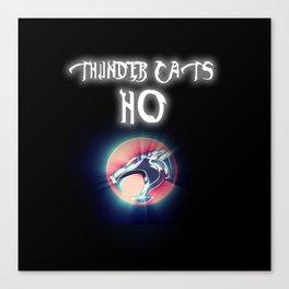 Thunder Cats Ho Canvas Print