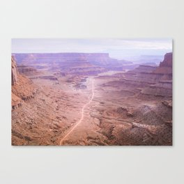 Road through the Canyonlands Canvas Print