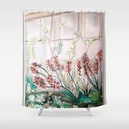 Allen Garden Conservatory Toronto Shower Curtain