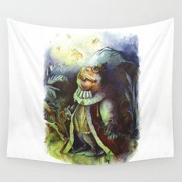 SWAMPS' KING (Le Roi des Marécages) Wall Tapestry