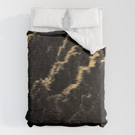 Orange Thunder Comforters